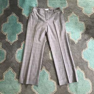 ANN TAYLOR LOFT PETITE Trouser Pants 6 Gray Wool